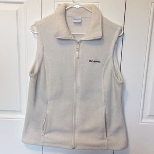 Women's fleece vest